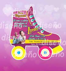 Invitacion De Soy Luna Personalizada 900 En Mercado Libre