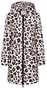 womens hooded packable ultra warm print