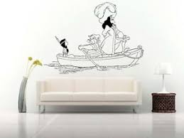 Wall Room Vinyl Sticker Mural Decal Peter Pan Fairy Magic Captain Hook O150 751778745333 Ebay