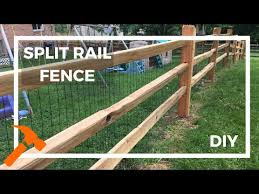 5 Helpful Things To Know Before Building Your Split Rail Fence Youtube