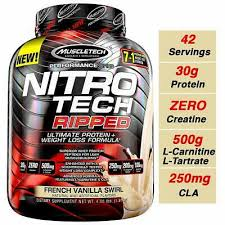 muscletech nitro tech ripped protein 4