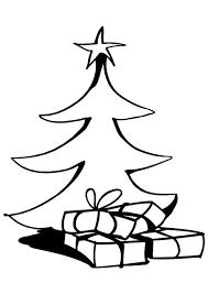 Kleurplaat Kerstbomen 4563 Kleurplaten