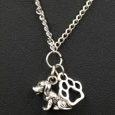 hot 5pcs antique silver cute dog cat
