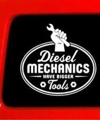 Diesel Mechanic Bigger Tool Vinyl Decal Stickers Sticker Flare Llc