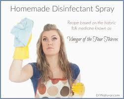 homemade disinfectant spray vinegar of