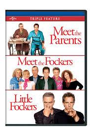 Amazon.com: Meet the Parents / Meet the Fockers / Little Fockers (Triple  Feature): Robert De Niro, Ben Stiller, Owen Wilson, Blythe Danner, Dustin  Hoffman, Teri Polo, Barbra Streisand, Nicole DeHuff, Jessica Alba,
