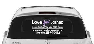 3d Fiber Lash Car Decal Love Your Lashes Lash Lady Car Decal For Independent Presenters Lash Business Decal T Shirt Time