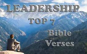 top bible verses about leadership