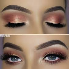 prom makeup blue eyes cat eye makeup
