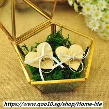 qoo10 personalized wedding glass box