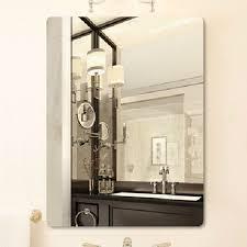 clear glass mirror