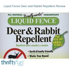Liquid Fence Deer And Rabbit Repellent Review Thriftyfun