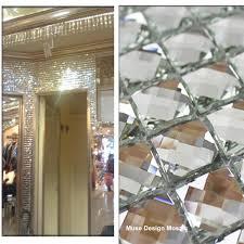 mirror glass mosaic tiles