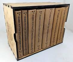 harry potter leather bound box set