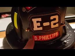 phenix tl2 leather fire fighting helmet