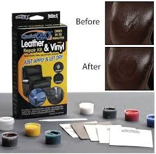 this repair kit is shaking the leather