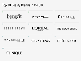 top 10 beauty brands in the u k