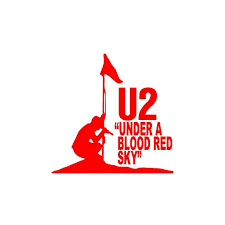 U2 Under A Blood Red Sky Vinyl Decal Car Laptop Sticker Etsy