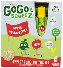 gogo squeez apple strawberry lil s