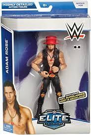 ADAM ROSE - WWE ELITE 38 MATTEL TOY WRESTLING ACTION FIGURE by Wrestling:  Amazon.co.uk: Toys & Games