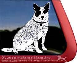 Custom Australian Cattle Dog Stickers Decals Nickerstickers
