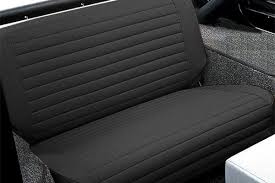 bestop jeep rear bench seat covers