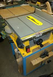 Dewalt Table Saw Enhancements 4 Steps With Pictures Instructables