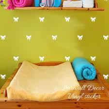 Cartoon Little Ribbon Bow Wall Sticker Girl Room Baby Nursery Bow Knot Wall Decal Kids Room Children Room Cut Vinyl Home Decor Home Decor Wall Stickerwall Sticker Girl Aliexpress