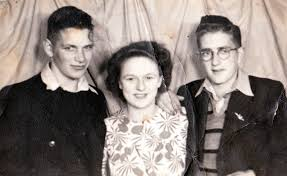Ray Boote, Merle Gibson and Jimmy Hambley   West Coast New Zealand History