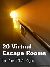 20 Virtual Escape Rooms For Kids Of All Ages The Suburban Mom