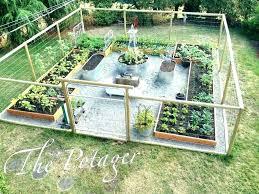 simple garden fence ideas evadecor co