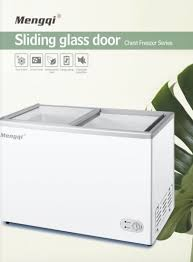 310 l sliding glass door chest freezer