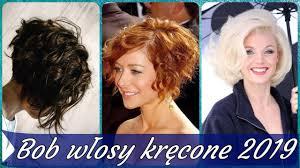 Top 20 Modne Fryzury Bob Krecone Wlosy 2019 Youtube
