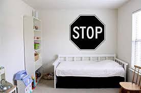 Amazon Com Vinyl Sticker Stop Road Sign Door Privacy Poster Do Not Enter Do Not Disturb Danger Teenager Kids Room Mural Decal Wall Art Decor Sa2250 Handmade