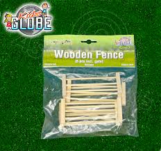 Kids Globe Farming Play Sets Pack Of 6 Wooden Play Fences Inc Gate 1 32 Scale 8713219269053 Ebay