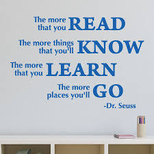 The More That You Read Wall Quotes Decal Wallquotes Com