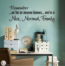 Funny Family Quote Wall Decal Lettering Graphicsmesh