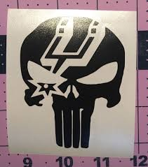 Punisher Spurs Decal For Your Yeti Rambler Tumbler Yeti Rambler Tumblers Rambler Tumbler Yeti Rambler