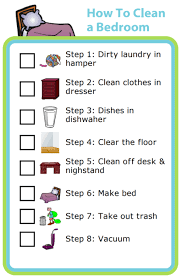 Free Printable How To Clean A Bedroom The Trip Clip Blog Make Any List Then