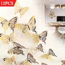 3d Dragonfly Sticker Art Design Decal Wall Stickers Decor Room Decorations For Sale Online Ebay