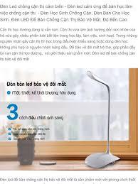 Đèn Led chống cận thị cảm biến - Đèn led cảm ứng để bàn học làm việc chống  cận thị -Đèn Học Sinh Chống Cận, Đèn Bàn Cho Học Sinh. Đèn LED
