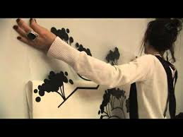 Easy Way To Install Wall Decals How To Youtube