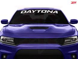 Custom 06 19 Dodge Charger Daytona Windshield Decal Ztr Graphicz