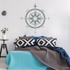 Compass Wall Decal Bedroom Nautical Decor Compass Rose Wall Decor Navigate V 1000 In 2020 Wall Decor Amazon Wall Decals For Bedroom Nautical Decor