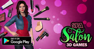 beauty spa salon makeover games 3d