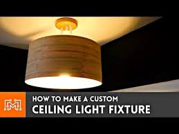 custom ceiling light fixture