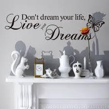 decorative vinyl wall art decal home decor famous inspirational