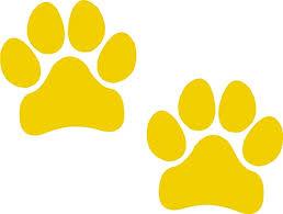 Amazon Com Paw Prints Yellow Pawprints Paws Dog Puppy Pup Mutt Canine Print Car Auto Wall Locker Laptop Ipad Notebook Netbook Vinyl Sticker Decal Label Placard Yellow Automotive