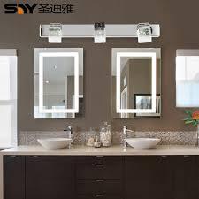 led modern minimalist bathroom mirror