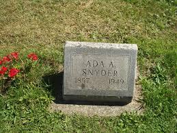 Ada Arabella Morford Snyder (1857-1949) - Find A Grave Memorial